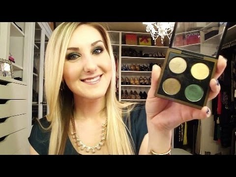 Emerald & Bronze Makeup Tutorial: MAC Temperature Rising