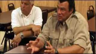 Reserve Deputy Chief Steven Seagal Cracks