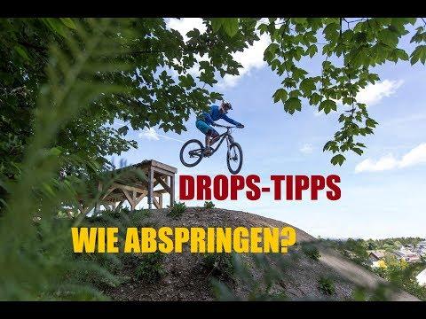 Bikepark-Drops - wann floaten, wann abziehen? Willingen mit Tomas!