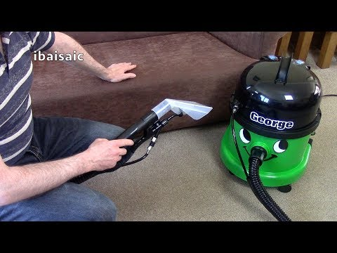 Numatic George Upholstery Cleaning Demonstration