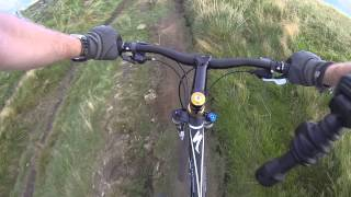MTB Ride; Hope Valley Loop; Mam Tor to Hollins Cross, descent to Ladybooth.