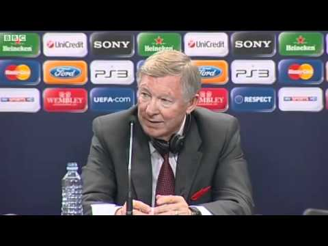 Sir Alex ' stupidest question I ever heard ' - Funny after Champions league final 2011