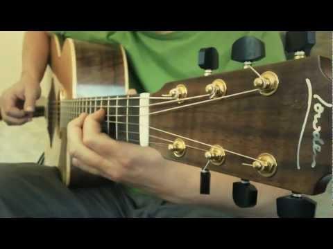 Thomas Leeb - Akaskero - crazy Acoustic Guitar harmonics