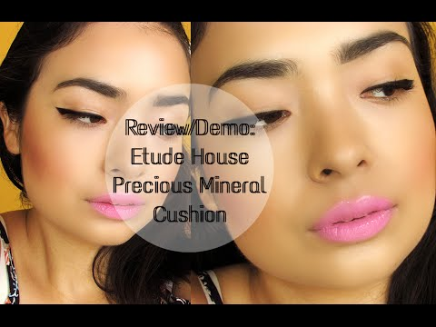 Review/Demo:Etude House Precious Mineral ANY Cushion SPF50