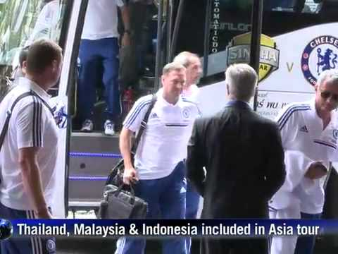 actual   hot news chelsea Arrive Bangkok