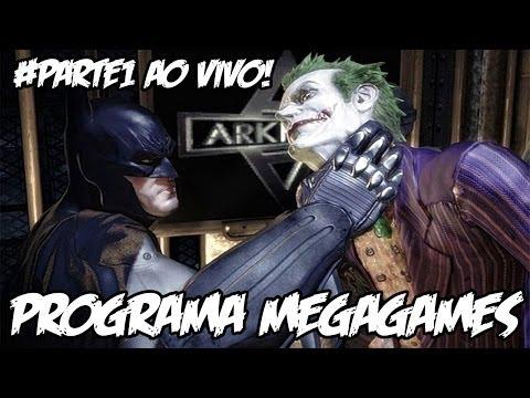 BATMAN ARKHAM ASYLUM - #PARTE1 AO VIVO - PÉ NO BUCHO E MÃO NA CARA!