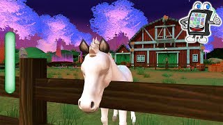 Star Stable Horses App deutsch NINAS FOHLEN ANGEL CLOUD & GHOST KNIGHT füttern & pflegen Pferdespiel