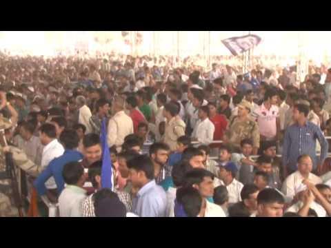 Bahan Kumari Mayawati ji ne kiya Meerut me Vishal Jan Sabha ko Sambodhit