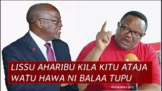 Tundu Lissu Achafua hali ya hewa Ghafla Mazima, Ameharibu kila kitu Ataja Watu hawa ni Balaa tupu