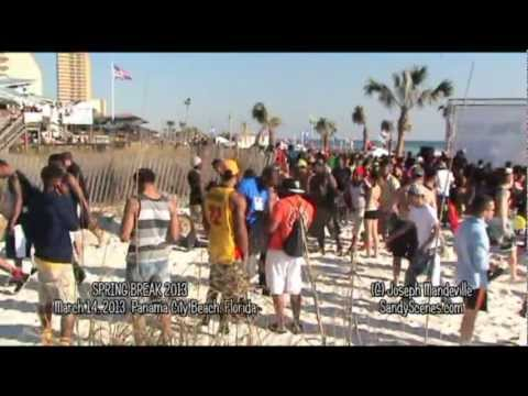 SPRING BREAK 2013 Panama City Beach, Florida PART 1