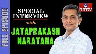 Jaya Prakash Narayana Exclusive Interview On JFC  | hmtv