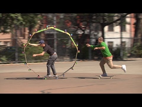 Krooked 'Circle Board In NYC'