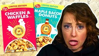 Irish People Try Weird American Cereal