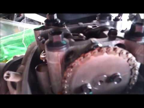 Honda CBF 125   Como afinar válvulas