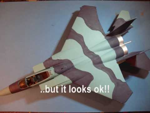 HOBBYBOSS 1/72 F-15 C 'Eagle' - A Building Review