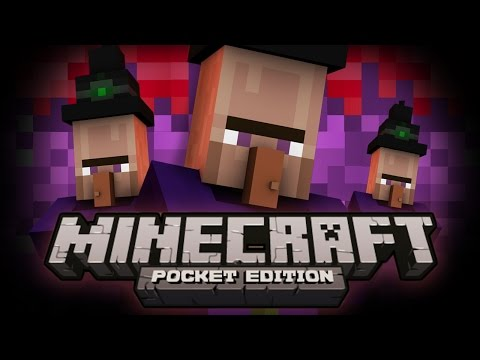 Minecraft Pocket Edition | WITCH BOSS ADVENTURE MAP! - Minecraft MCPE 0.9.0