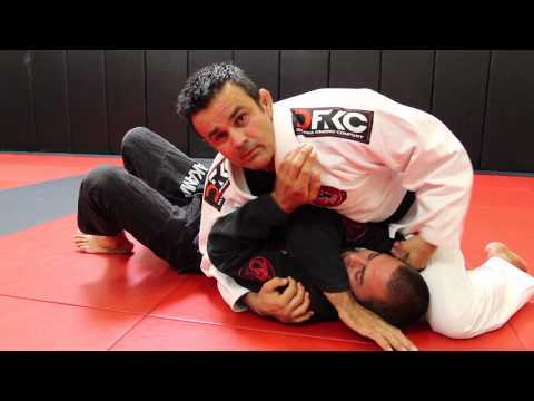 Jiu Jitsu Techniques - Clock Choke From Side Control Image 1
