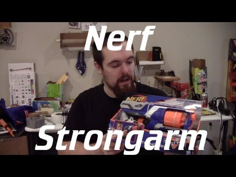 Nerf Elite Strongarm Unboxing and Review