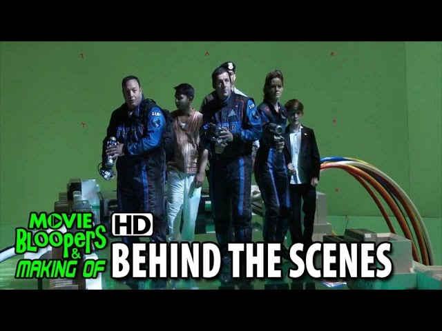 Pixels (2015) Making of & Behind the Scenes