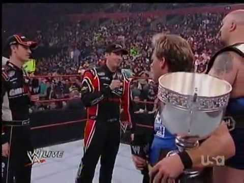 WWE RAW Joey Logano and Kyle Busch
