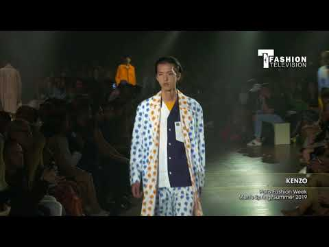 KENZO Paris Fashion Week Men's  Spring/Summer 2019