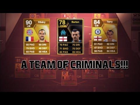 Fifa 13 - A Team Of CRIMINALS!