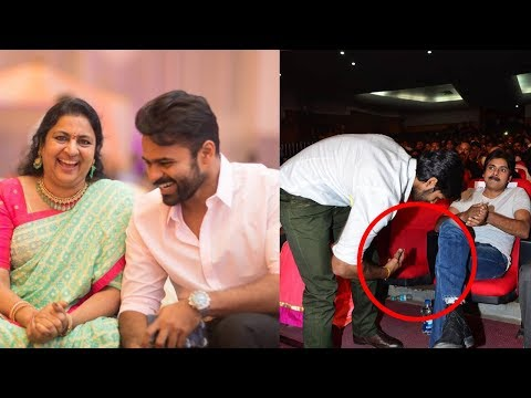 Actor Sai Dharam Tej Family Photos | Birth Day Special Pics
