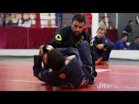De La Riva Sweep to Arm Bar Drill | Robson Moura | Jits Magazine Image 1