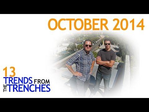 Trends from the Trenches - October 2014