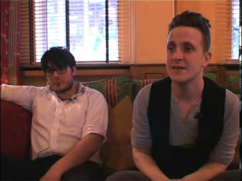 The Futureheads 2008 interview - Barry and Ross (part 5)