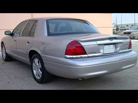 Ford Crown Victoria History 2003-2011 - YouTube
