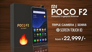Poco F2 - Flagship Killer 🔥 Popup Camera, Indisplay Fingerprint, Triple Rear Camera | #PocoF2