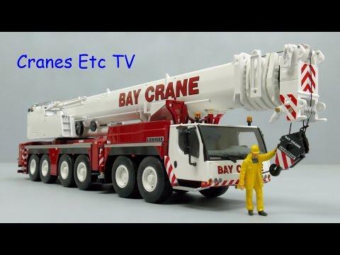 WSI Liebherr LTM 1350-6.1 Mobile Crane 'Bay Crane' by Cranes Etc TV