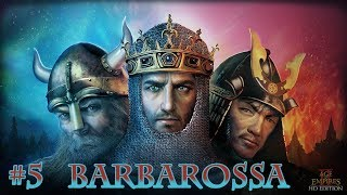 Age of Empires 2 HD Edition : Barbarossa # 05 - Barbarossův březen [CZ]