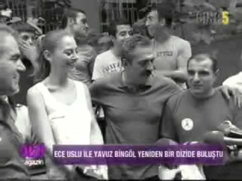 Ece Uslu ve Yavuz Bingöl Karagül Dizisinde!