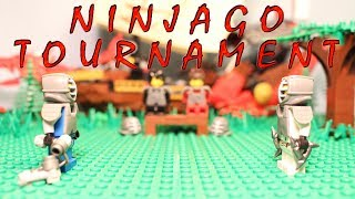 Lego Ninjago Stop Motion: Tournament Training