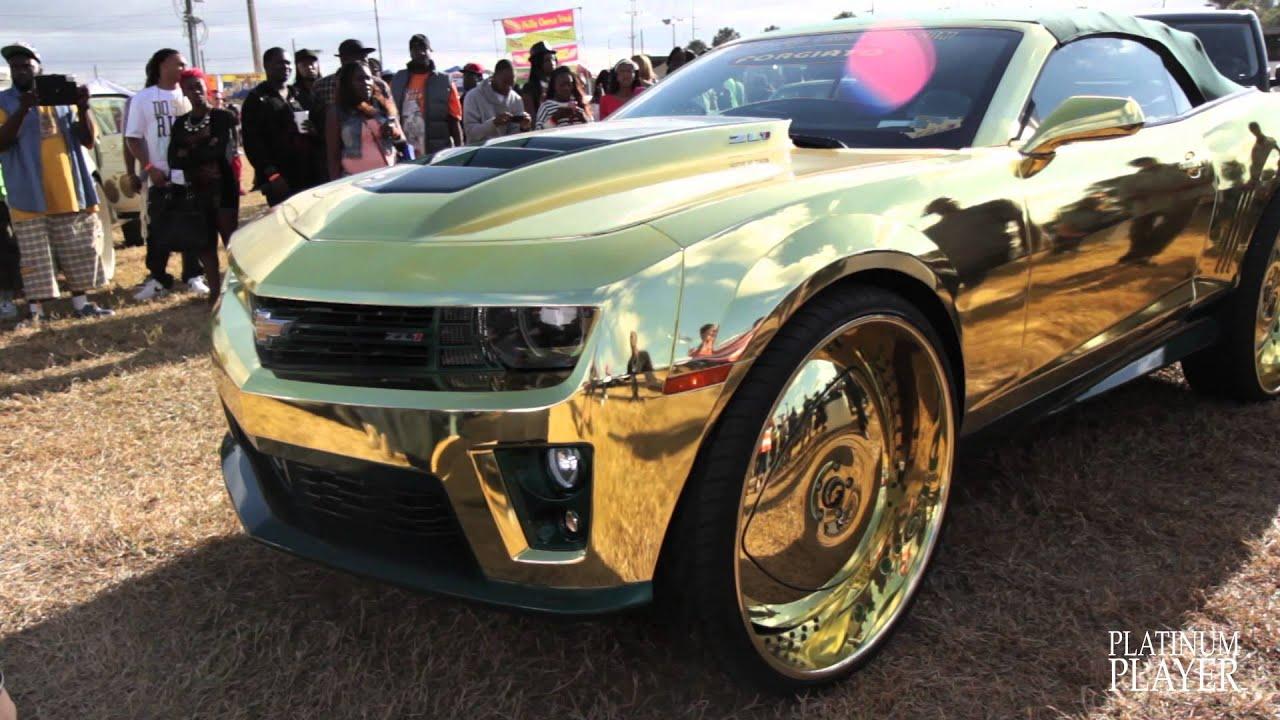 Incredible Gold Camaro Central Florida Series Youtube