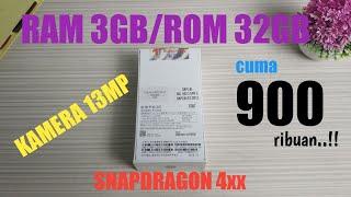 HP Baru cuma 900rban Ram 3GB ROM 32GB | Unboxing & Review redmi 3s