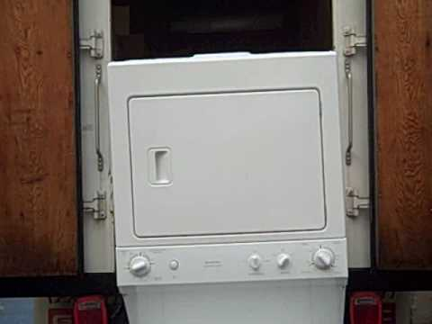 Ge 2 7 Cu Ft Stacked Spacemaker Washer And Electric