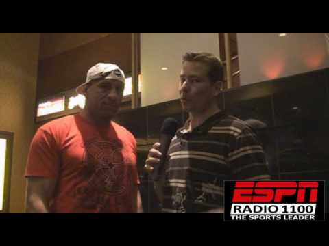UFC MARK COLEMAN talks Chuck Liddell, Kim Couture and training in 2009 Image 1