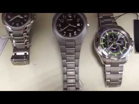 Какие часы выбрать из стали или титана?