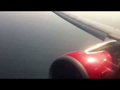 Landing in Bali (DPS) Air Asia