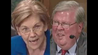 """""""THIS ONE REALLY TAKES THE CAKE!!!"""" Elizabeth Warren GETS PISSED OFF & DESTROYS Trump Nominee"""