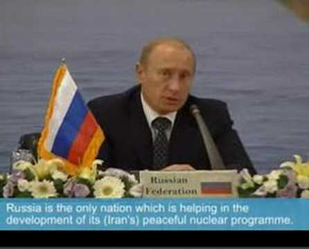 Putin warns US against military action on Iran Video