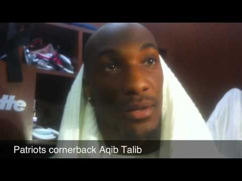 Patriots quarterback Aqib Talib talks about the Saints