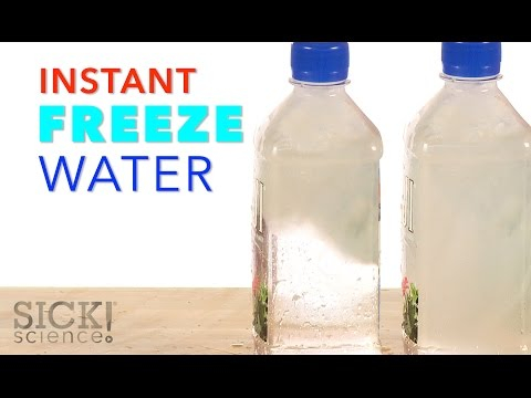 Instant Freeze Water - Sick Science! #226