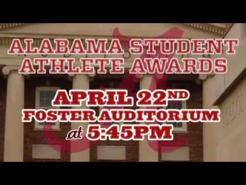 The Alabama Student-Athlete Awards - Monday, April 22, 2013