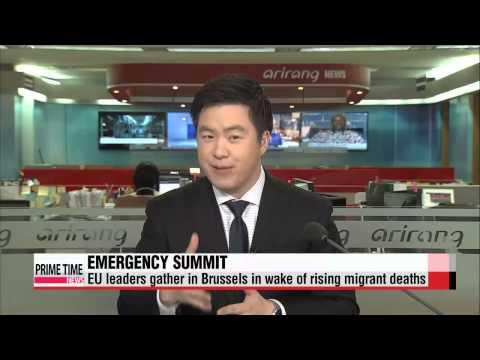 EU leaders hold emergency summit on migrant crisis   EU 난민대책 긴급 정상회의