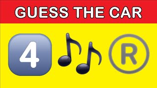 Emoji Puzzle | Can You Guess The Car Brand / Model From The Emojis | Emoji Challenge