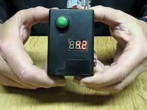 E-Cig Box Mod DIY Variable Voltage w/LED Dual Power Custom Build LM2596 Circuit Board